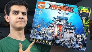 LEGO Ниндзяго Фильм - ХРАМ ГАРМАДОНА - Набор На Обзор (70617)