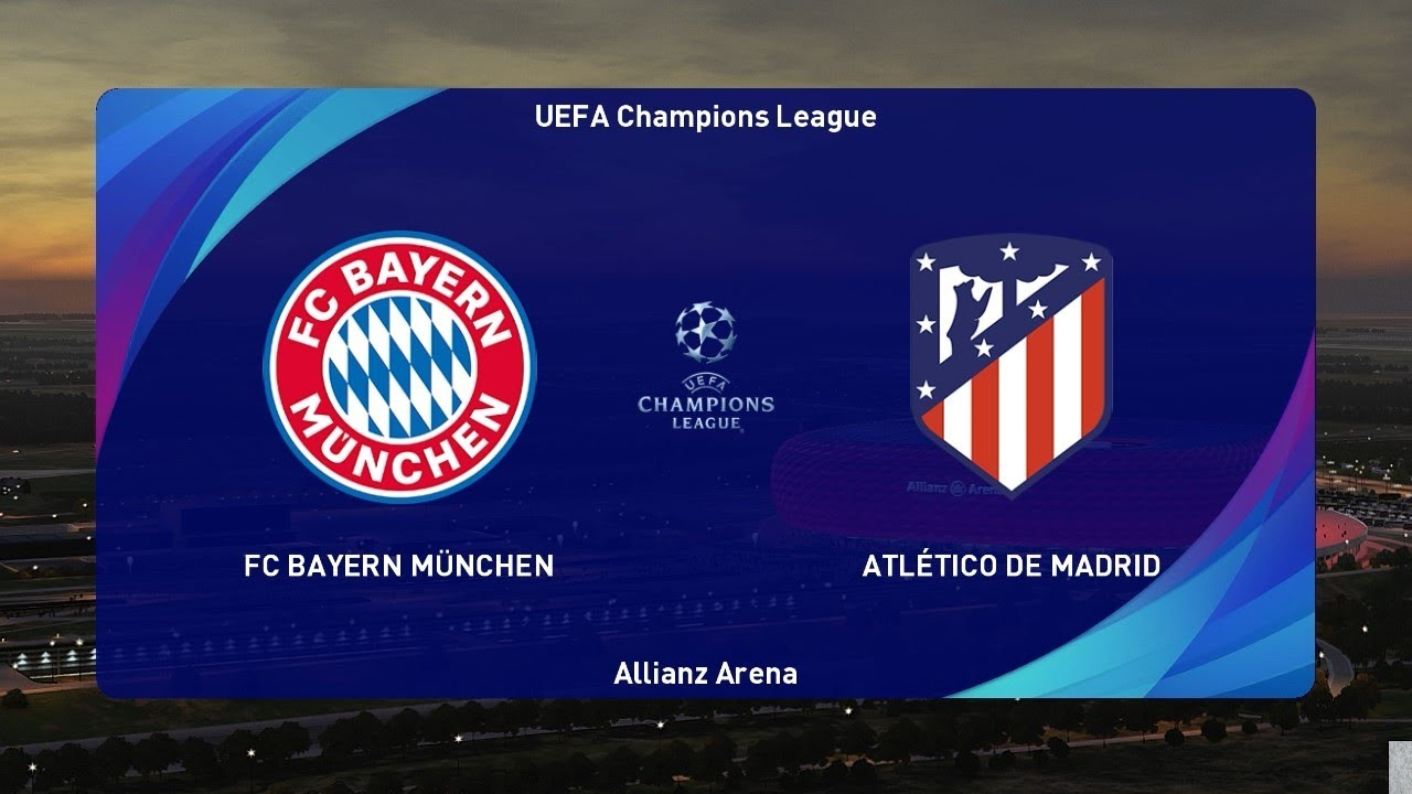 PES 2021 | BAYERN MUNICH vs ATLETICO MADRID | UEFA Champions League 2020 | Gameplay PC - YouTube