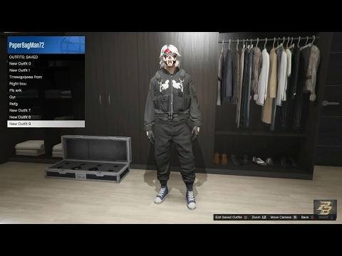Gta5- 10 Male Modded Outfits Director Mode Glitch