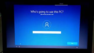 Installing Windows 10 on Acer Aspire 5 Laptop through bootable flash drive