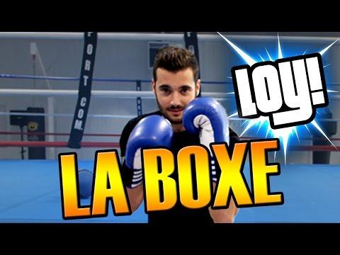 JE TESTE LA BOXE - LOY !