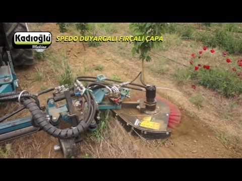 Duyargali Bodur Bahçe Çapa Makinasi -2016 - Italyan Spedo