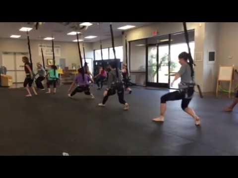First Bungee Workout Class in US-Chandler AZ