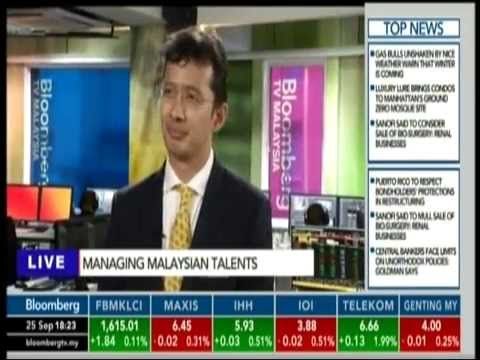 Moving Malaysia: Managing Malaysian Talents (Bloomberg TV)
