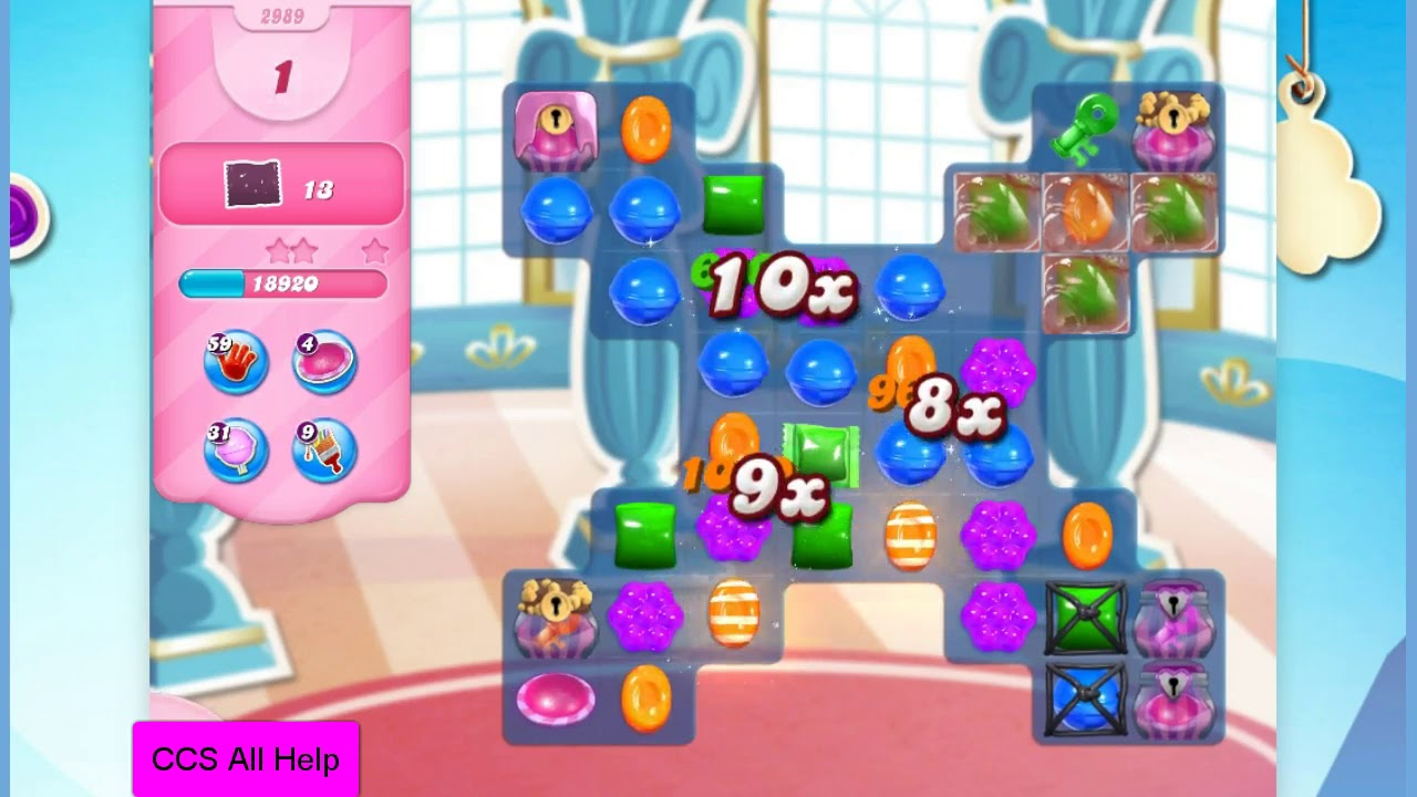 Download Candy Crush Saga Level 2989 12 moves NO BOOSTERS Cookie