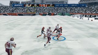 Just Call Me the Comeback Kid | Snow Game - Madden 13 Online Gameplay (Bengals vs Redskins)