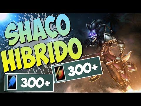 SHACO JUNGLE 300+ AD 300+ AP 40% CDR