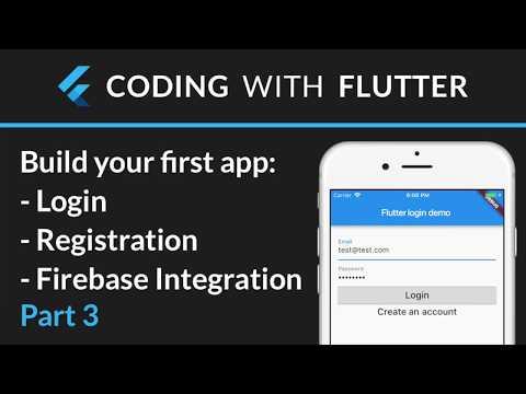 Flutter & Firebase Auth 03 - Add Firebase registration form + State management