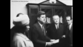 November 22, 1961 - President John F. Kennedy meets Chancellor Konrad Adenauer of West Germany
