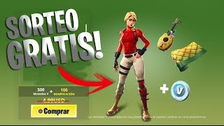 DRAW 2 LAGUNA PACKAGES IN FORTNITE!! -ANALISIS OF SKIN AND SWEEPSTAKE!!
