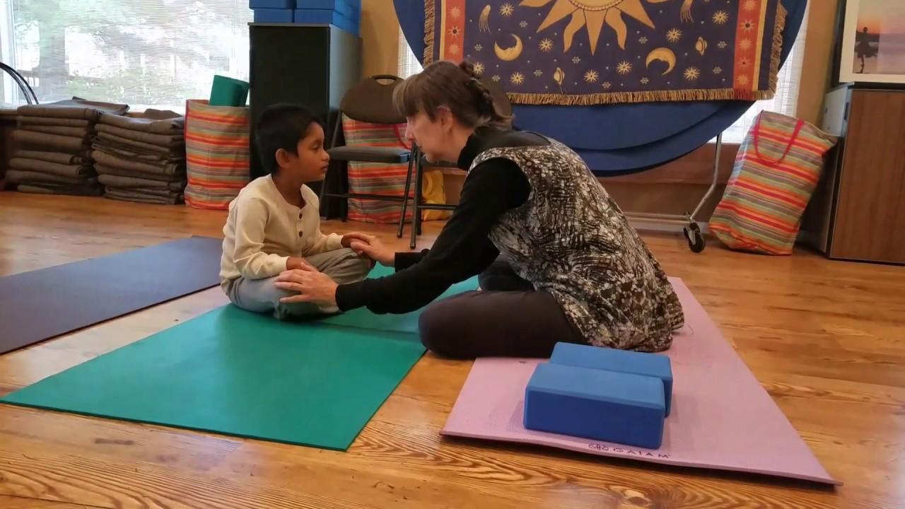 Autism Yoga For Toddler, Opening of Yoga Session With Bell, Breathing  Exercises, Eye Yoga