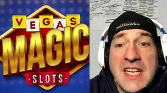 VEGAS MAGIC SLOTS Casino Games | Android / iOS Game | Review & Lets Play Gameplay Youtube YT Video
