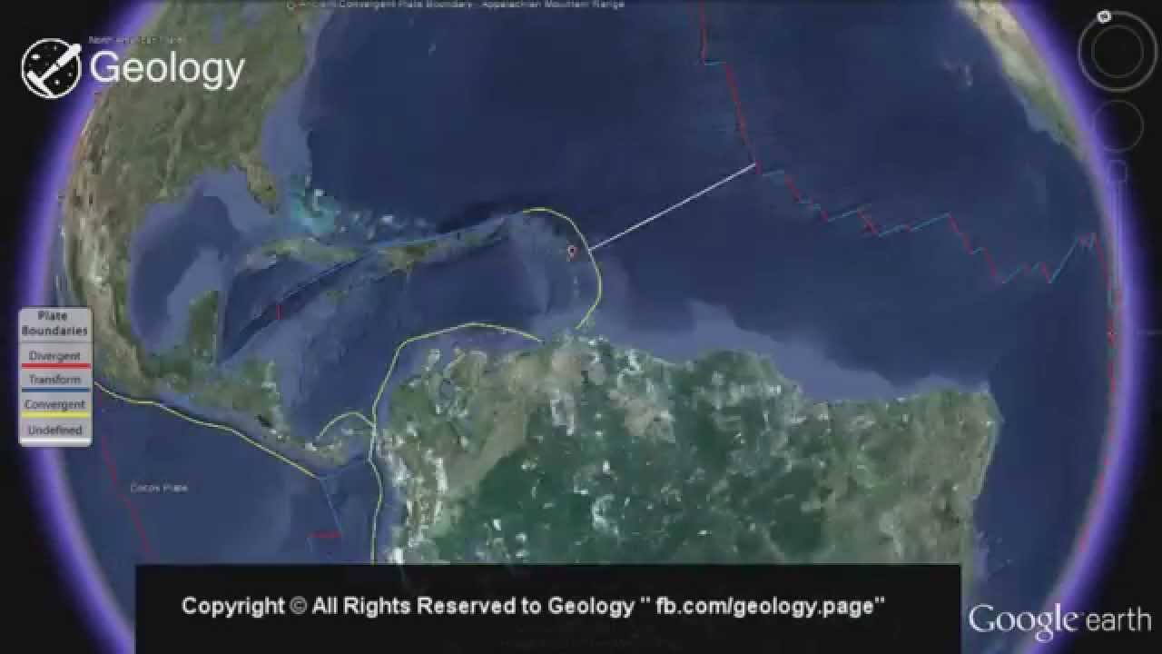 Plate Tectonics Plate Boundaries Map YouTube - Plate tectonics map