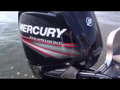 The new 2015 Mercury 90 Hp 4 Stroke