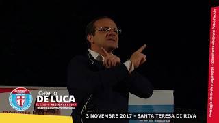 CATENO DE LUCA - 3 NOVEMBRE 2017 SANTA TERESA DI RIVA