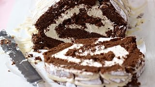 Mary Berry's Chocolate Roulade Recipe