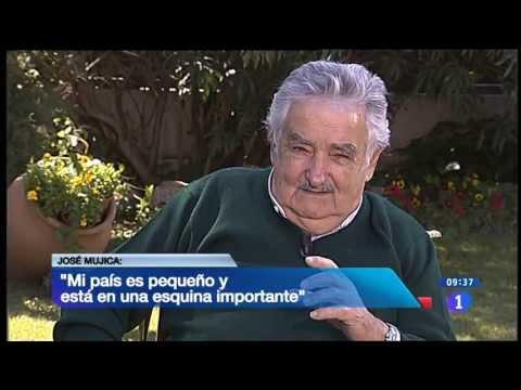 Entrevista a José Mújica en TVE