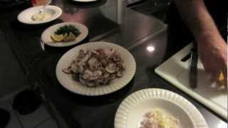 Ycmt-chicken Marsala, Roasted Potatoes, And Big Daddy's Collards