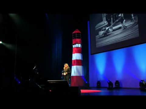 Crossing over to the givers side: Maria Karra at TEDxAthens 2013