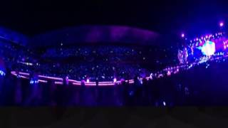 Coldplay   Every tear is a waterfall   Brisbane 2016