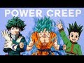 Handling Power Creep in Shonen Anime