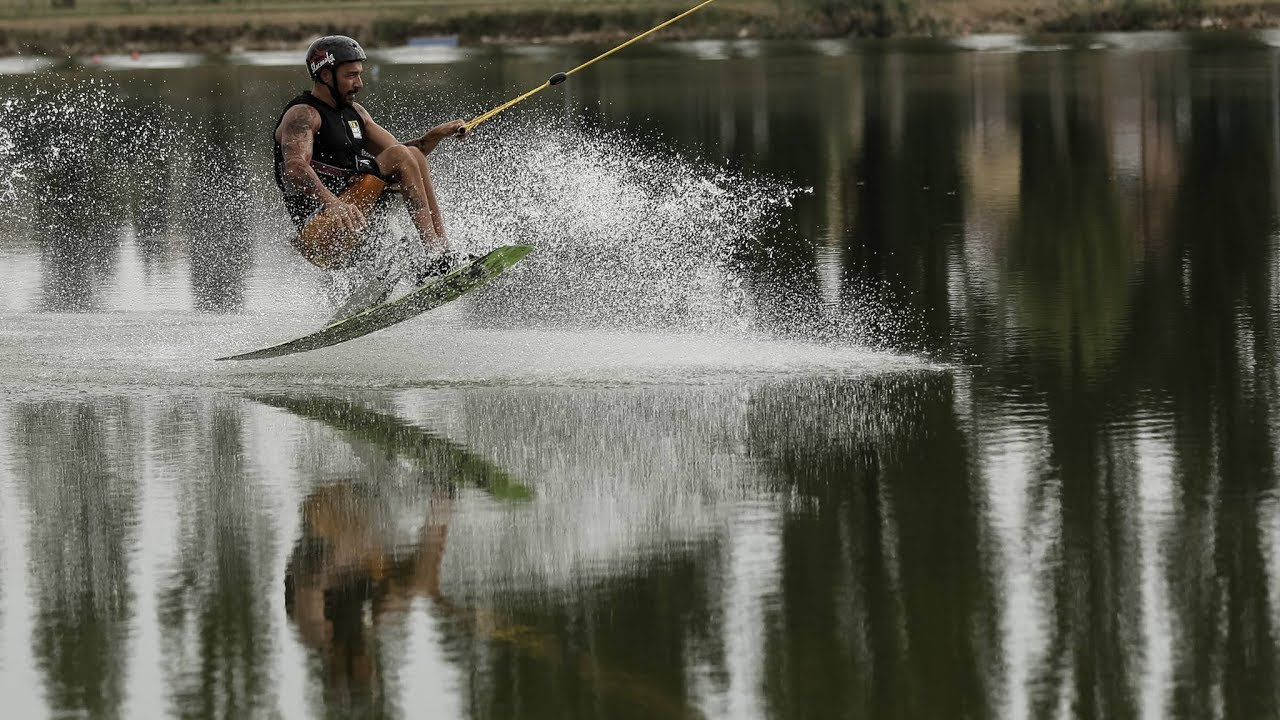 Swaik - Adaptive wakeboard by Tessier - Meme Pagnini in action