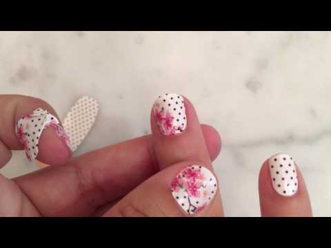 How to Apply Color Street 100% Nail Polish Strips Without Any Tools!
