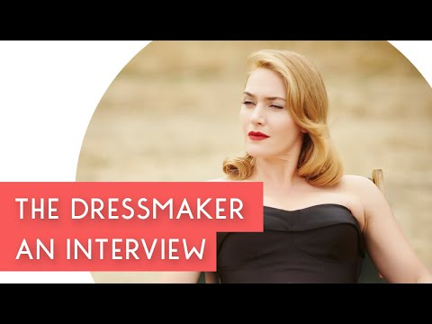 An Interview with Marion Boyce - The Dressmaker Costume Exhibition