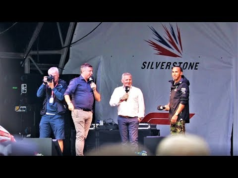 Lewis Hamilton Takes Questions On Stage From Fans | Silverstone Fan Forum 2019