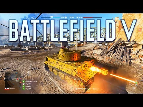 Battlefield 5 Rotterdam Gameplay