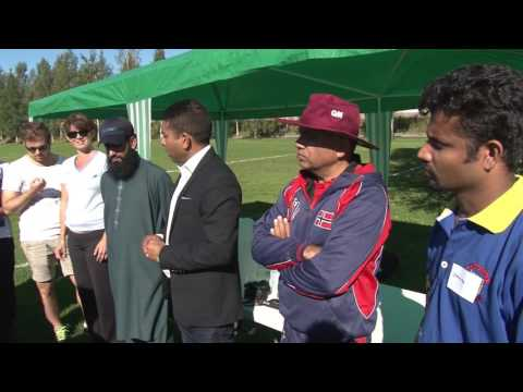 En Cricket Turneringen Av  Inter Oslo CK (Pandula B ) Norway 2016
