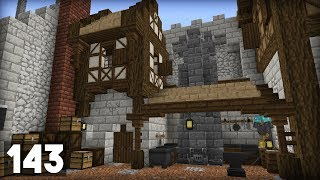 Building a Blacksmith! (18w46a)   Building Big w/ Jerm #143