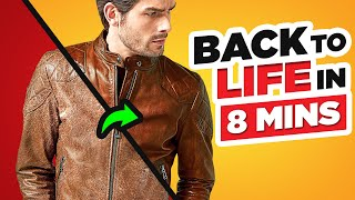 Bring Your Leather Jacket Back To Life In JUST 8 Minutes! screenshot 5