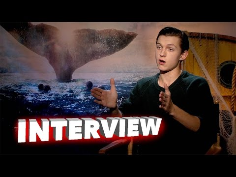 In The Heart of the Sea: Tom Holland Exclusive Interview