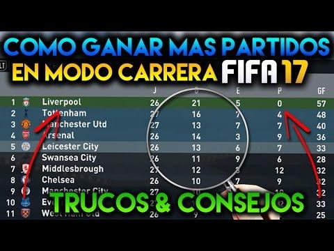 COMO GANAR MAS PARTIDOS EN MODO CARRERA FIFA 17/18 | TRUCOS & CONSEJOS