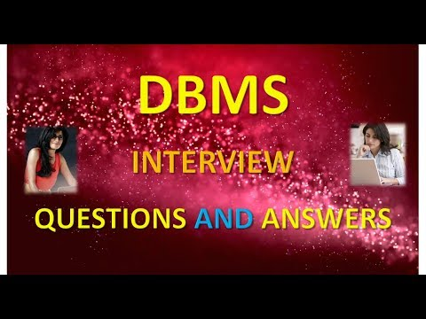 DBMS Questions and Answers Part 1