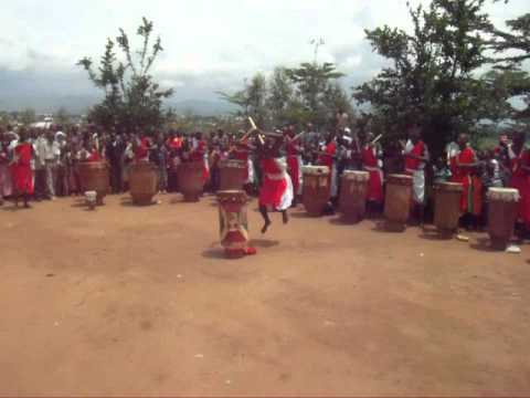 African Tribal Welcome Dance