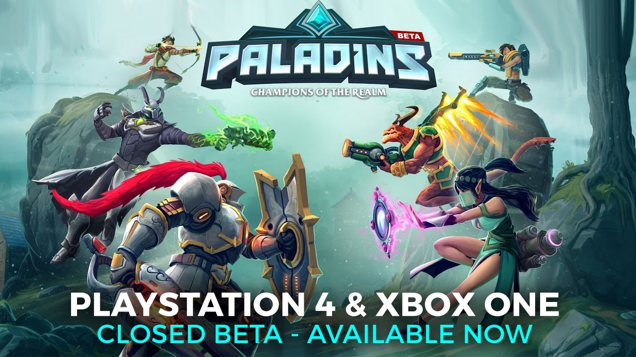 Get a free code to the Paladins closed beta on PS4 and Xbox One