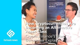 How Cryptocurrencies are Becoming an Asset Class: Marc Bernegger, Crypto Finance