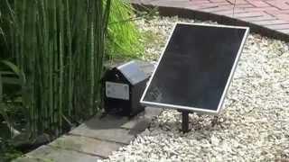 Bermuda Saturn Solar Pond Fountain Pump