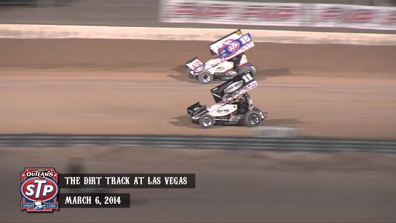 Highlights: World of Outlaws STP Sprint Cars The Dirt Track at Las ...