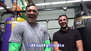 OLEKSANDR USYK ASKS WHY IS MURAT GASSIEV ONE OF THE BEST?