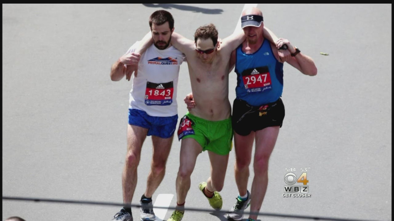 Man Who Collapsed At Boston Marathon Finish Line Expected To Recover