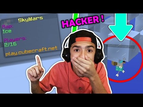 ¡¡ME ENCUENTRO UN HACKER EN CUBECRAFT!! | - JoanFerPLAY