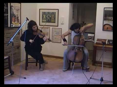 IRON MAIDEN Fear of the Dark Live - Violin - Cello - Lydia and Constantinos Boudounis