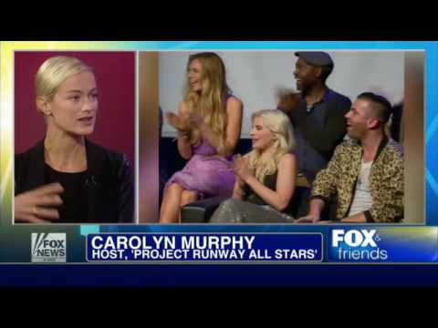 Carolyn Murphy rules the 'Runway'