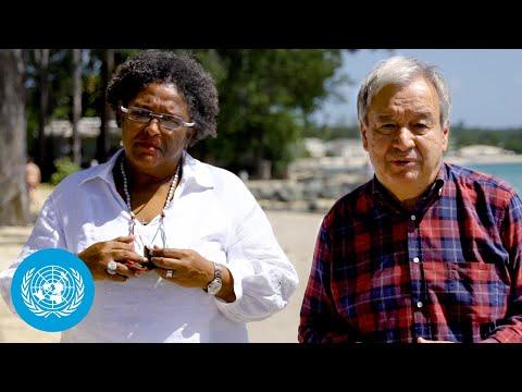 Barbados: Sea-level Rise & Coastal Erosion -United Nations Chief sees Climate Impacts ahead of COP26