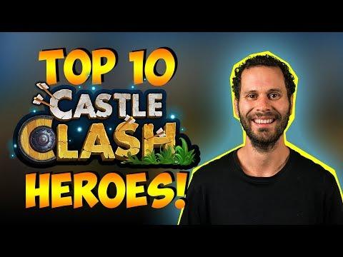 Top 10 Castle Clash Heroes!