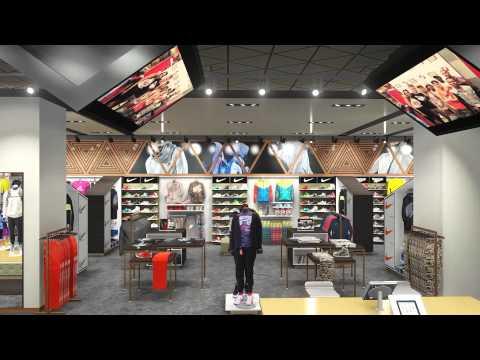 Villa 2.0 - Flagship Store Concept Animation