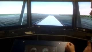 Тренажер управления судном. АМРТ, С-21